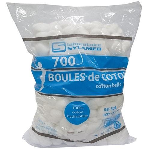 Coton boule lot de 700 boules