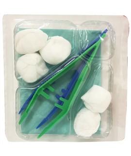 Set de pansement stériles 1 pince anatomique