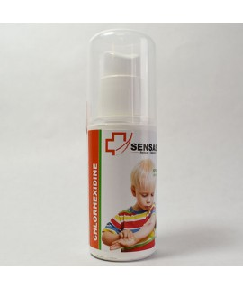 Spray désinfectant antiseptique à la chlorhéxidine Sensass - 50ml