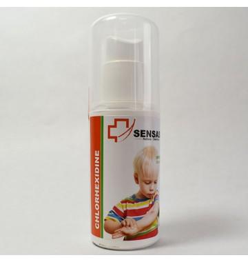 Spray désinfectant antiseptique à la chlorhéxidine Sensass - 50ml