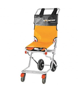 Chaise portoir pliante 4 roues