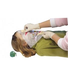 Masque respiratoire de poche en porte-clé