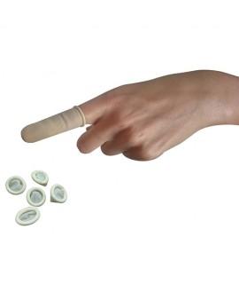 Doigtiers roulés en latex non stériles