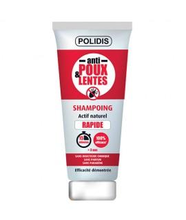 Shampoing Anti-poux et lentes Polidis