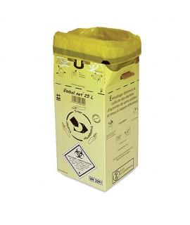 Caisse en carton pour déchets médicaux