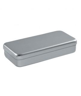 Boîtes de stérilisation Aluminium gris