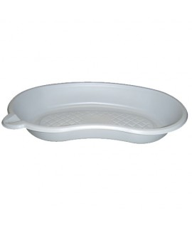 Cuvette Haricot en plastique blanc