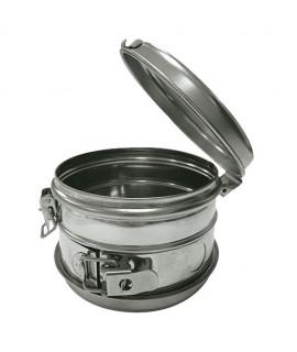 Tambour cylindrique inox