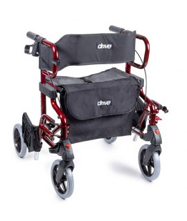 Diamond Deluxe: Rollator et fauteuil de transfert