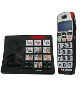 Téléphone sans fil avec photo Daewoo DTD7500