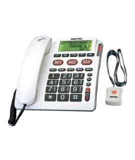 Téléphone Switel avec médaillon d'appel d'urgence