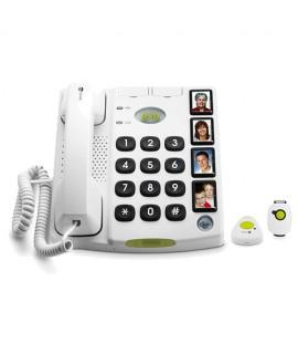 Téléphone filaire Secure 347 Doro avec télécommande