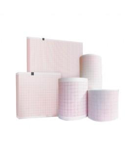 Boite de 5 rouleaux papier diagramme Cardiette - Cardiorapid - Colson 50mm x15 m