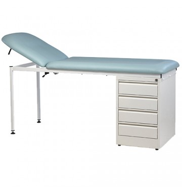 Table d'examen Moreuil - 1 bloc tiroirs