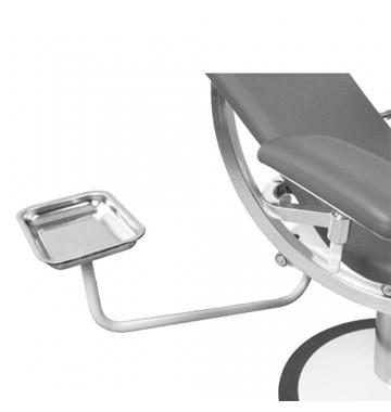 Plateau avec bras pivotant pour fauteuil Deneo