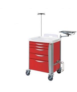 Chariot d'urgence 5 tiroirs