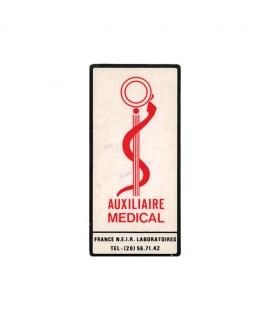 Caducée Auxiliaire Médicale