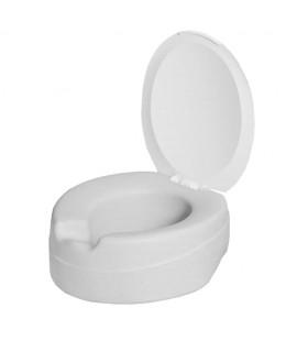 Réhausse WC Contact souple avec couvercle