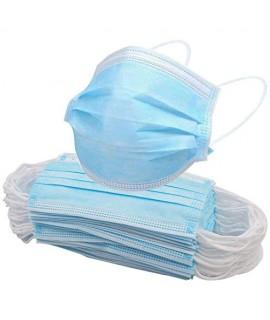 Masques chirurgicaux 3 plis - Boite de 50
