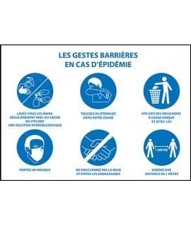 Panneaux PVC Spécial épidémie