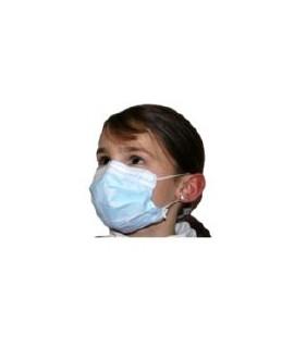 Masque chirurgical Type II Taille Enfant avec élastique