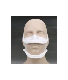 Masque inclusif à fenêtre transparente avec agrément DGA